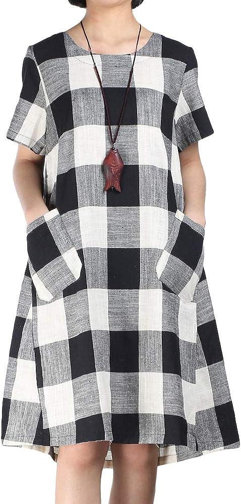 Casual  Linen Dress for women Summer Dresses for Women