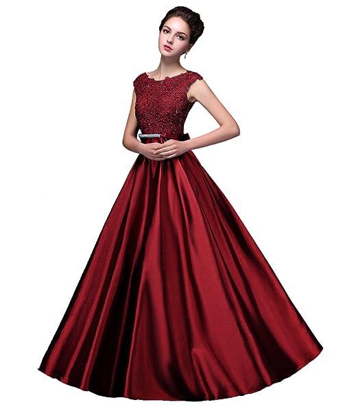 Beauty de noche de Emily para vestidos de mujer sin mangas de largo punta con espalda