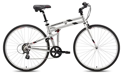 "Montague Crosstown 7 Speed Folding Bike Small - 17"""