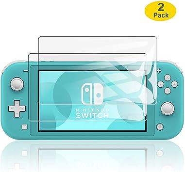 ELYCO para Nintendo Switch Lite Protector de Pantalla, [2 Piezas ...
