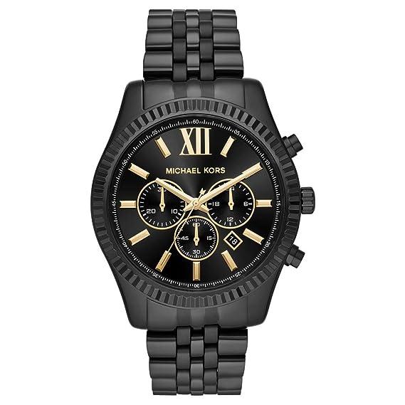 Michael Kors Reloj Analogico para Hombre de Cuarzo con Correa en Acero Inoxidable MK8603: Amazon.es: Relojes