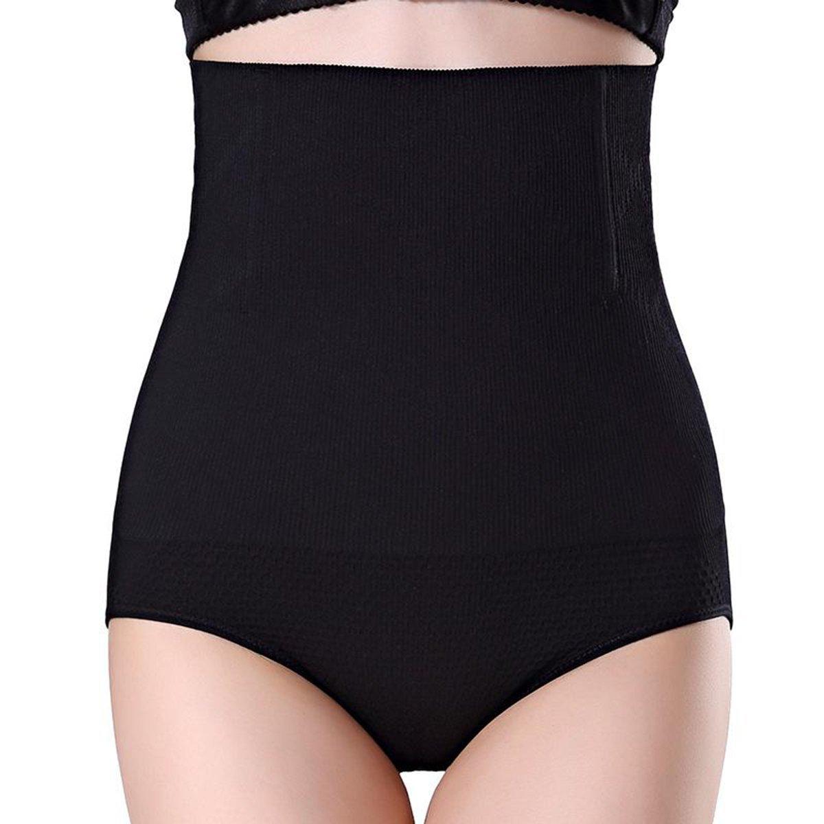 12c27d673d Miracle Women Black High Waist Seamless Shapewear Panties Underwear Tummy  Control Butt Lifter Briefs Body Shaper