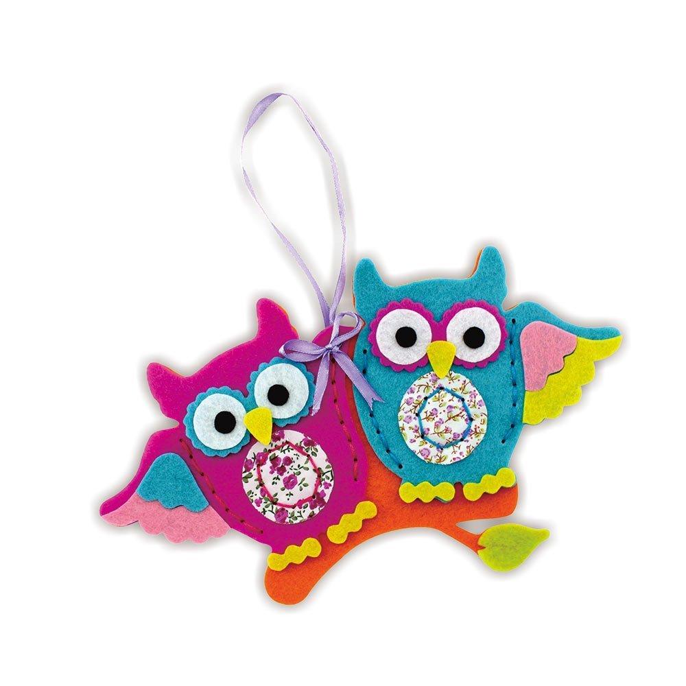 Felt Owl Ornament Kit Kyo Art Kits