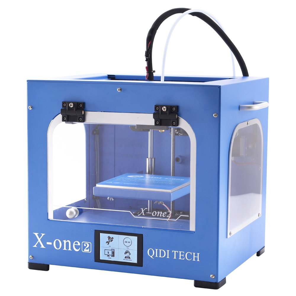 QIDI TECHNOLOGY New Generation 3D Printer:X-one2,Metal Frame Structure,Platform Heating by Qidi Technology