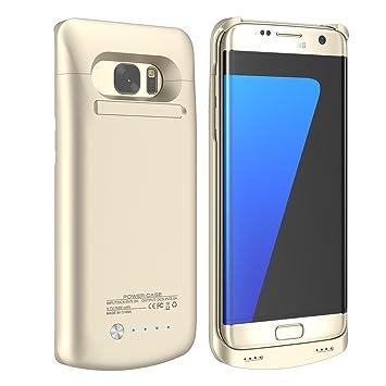 Samsung Galaxy S7 Edge 5200 mAh Ultra Fina batería Case ...