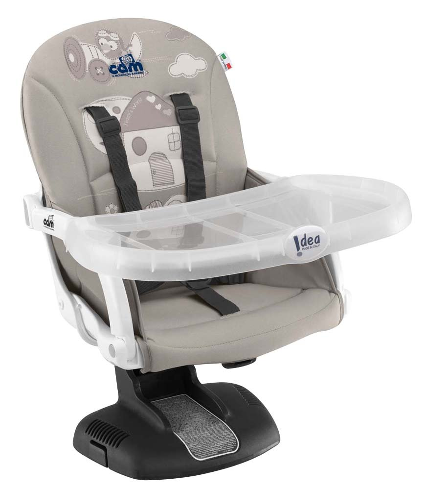 Cam - Il mondo del bambino - S334/227 - Elevador de silla Idea, color fango CAM Il Mondo del Bambino