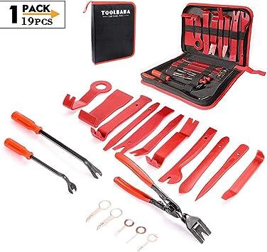 Demontage Werkzeug Auto Toolbaba 19 Stück Zierleistenkeile Verkleidungs Werkzeug Für Demontagen Von Auto Audio Radio Auto Zubehör Removal Reparatur Werkzeuge Auto