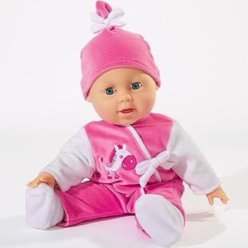 Bayer Babypuppe 24 Funktionen 38cm Spielpuppe Puppenbaby Spielzeug Puppe Puppen & Zubehör