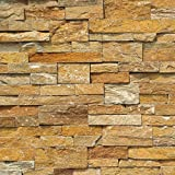 Koni Stone Citali Series Rust 4 sq. ft. Panel 6 in. x 24 in. x 0.80 in. – 1.20 in. Natural Stone