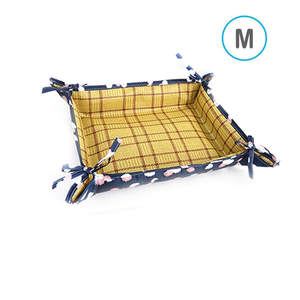 kelihood Haustierk/ühlung Mat Nest Antihaft-Haustier-Unterlage f/ür Doppelnutzung f/ür Cat Dog Oxford Cloth Waterproof