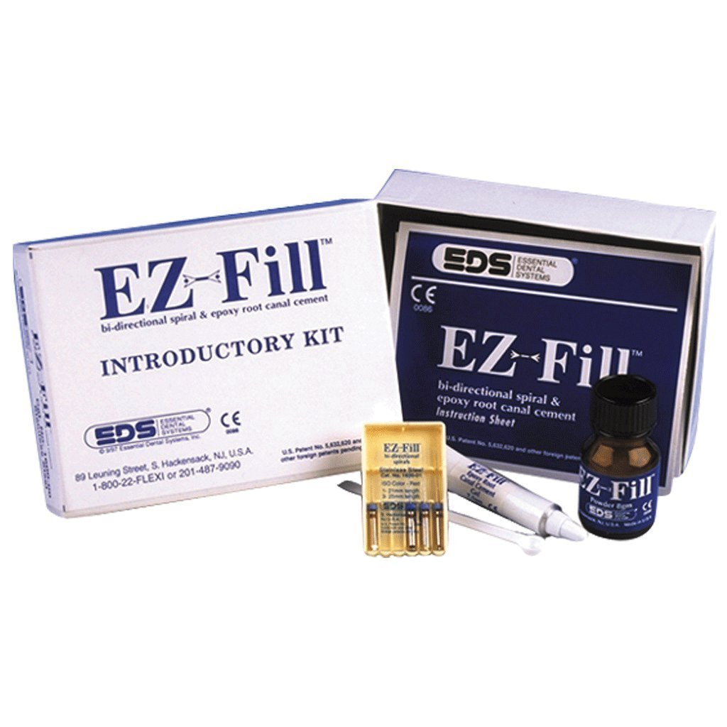 Essential Dental Systems 1600-00 EZ-Fill Intro Kit S.Steel Ea