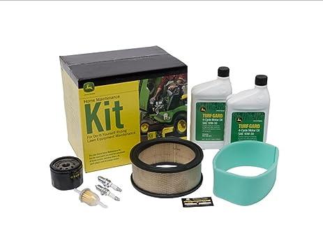 amazon com john deere maintenance kit fits l130, g100, g110 lawn John Deere 5103 Fuse Diagram John Deere Tractor Filters g110 john deere tractor wiring harness