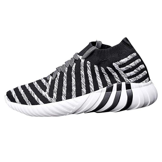 Zapatillas de Entrenamiento para Hombre ZARLLE Zapatillas de Deportes Hombre Zapatos para Correr Transpirable Zapatillas de Running para Mujer Deportivas ...