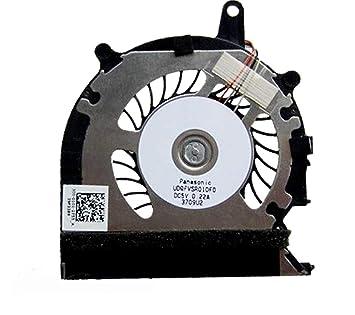 Desconocido Ventilador de refrigeración para Ordenador portátil Sony Vaio Pro 13 SVP13 SVP13A SVP132 SVP132A SVP13218SCB SVP13217SCB Serie P/N: UDQFVSR01DF0 ...