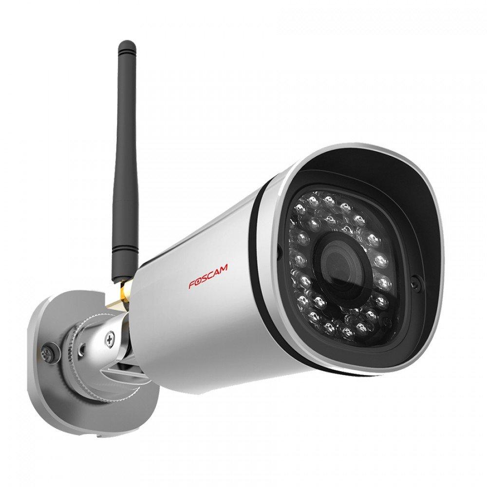 Foscam FI9900P - Cámara IP de vigilancia para exterior, función P2P, 2 MP, 1080p, WiFi, H264, compatible con iOS y...