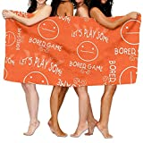 Bored-Games-Board-Gaming Yoga Towels Extra Absorbent Polyester Bath Towels