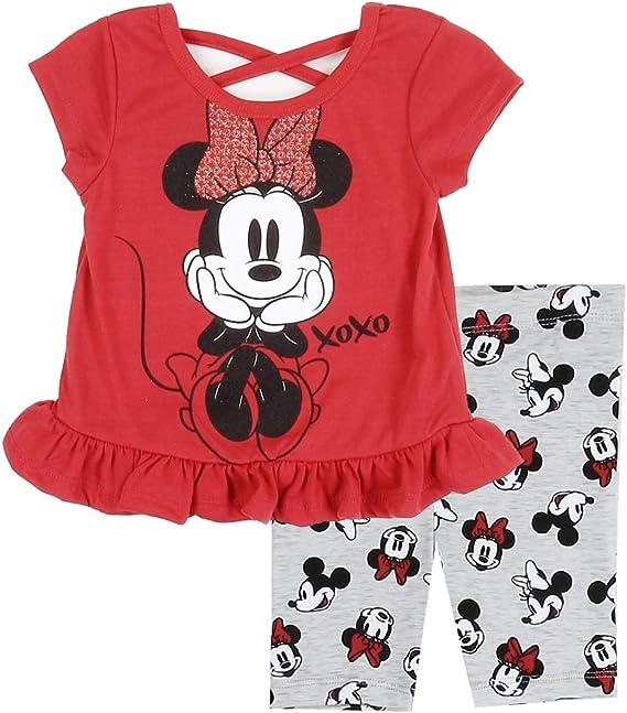 Disney Baby Girls Minnie Mouse Three-Pack Bodysuits Size 12M 18M 24M