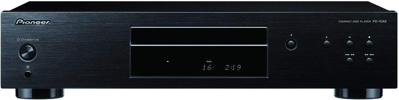 Pioneer CD Player Home, Black (PD-10AE)
