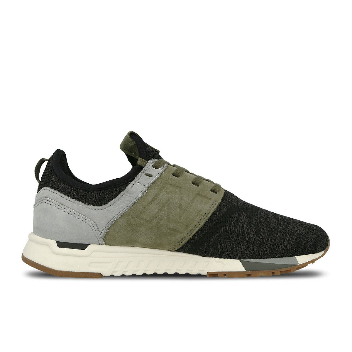 New Balance Herren 247 Classic Mesh Sneaker Lg Black