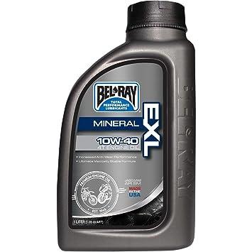 Bel-Ray EXL Mineral 4T Aceite de motor, 20 W 50, 4 l, 99100-B4LW: Amazon.es: Coche y moto