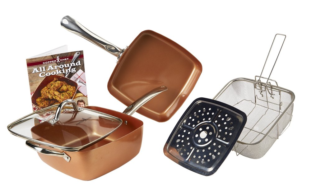 Copper Chef 5-Piece Cookware S...