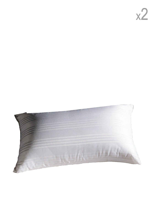 Niucci Cuscini.Niucci Coppia Copriguanciale Cotton D Oro Bianco 50x80 Amazon It