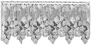 product image for Heritage Lace Woodland 60-Inch Wide by 24-Inch Drop Tier, Ecru