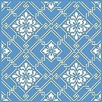 Litoarte STXX-005, Stencil para Pintura, Azul