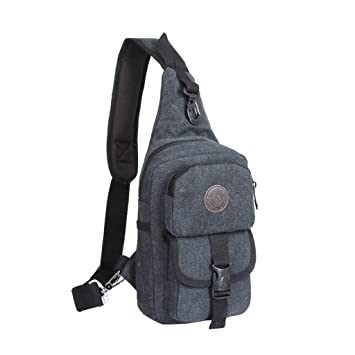 Amazon.com: Daosen Sports Unbalance Backpack Sling Bag for Men ...