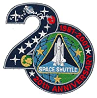 Patch 4 inch - Space Shuttle 20th Anniversary - NASA