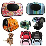 Portable Pet Carrier Dog Cat Tote Crate House Kennel Cage Travel Bag Purse Light For Sale