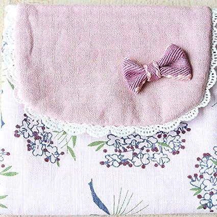 BIGBOBA Balle Sanitaire en Tissu S/érie De Bouquets De Grande Capacit/é Sac De Rangement pour Fille