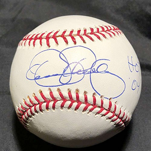 Dennis Eckersley Signed Auto Baseball MLB Authenticated HOF 04 Inscription A's