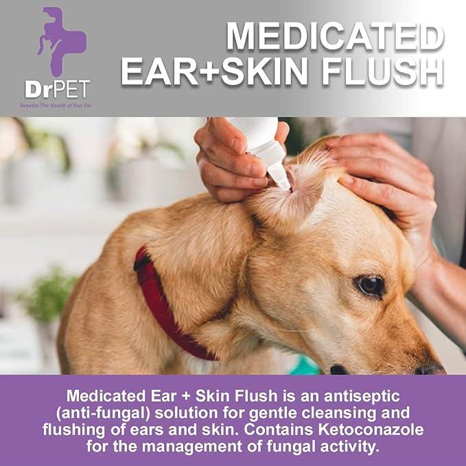 Amazon.com: Dr Pet - Oreja medicada + peluche de piel para ...
