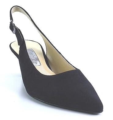 3507f93c4be Gabor Women s Hume 2 Court Shoes Blue Size  8 UK  Amazon.co.uk ...