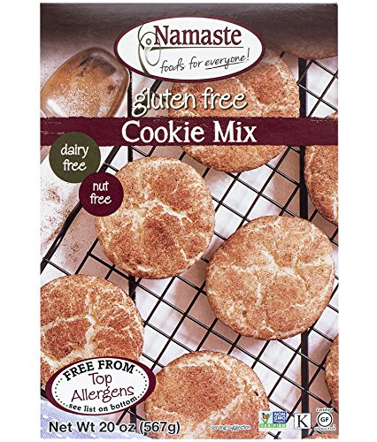 (Namaste Foods, Gluten Free Cookie Mix, 20-Ounce Bags (Pack of 6))