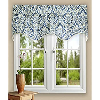 Amazon Com Ellis Curtain Donnington 50 By 15 Inch Lined Duchess Filler
