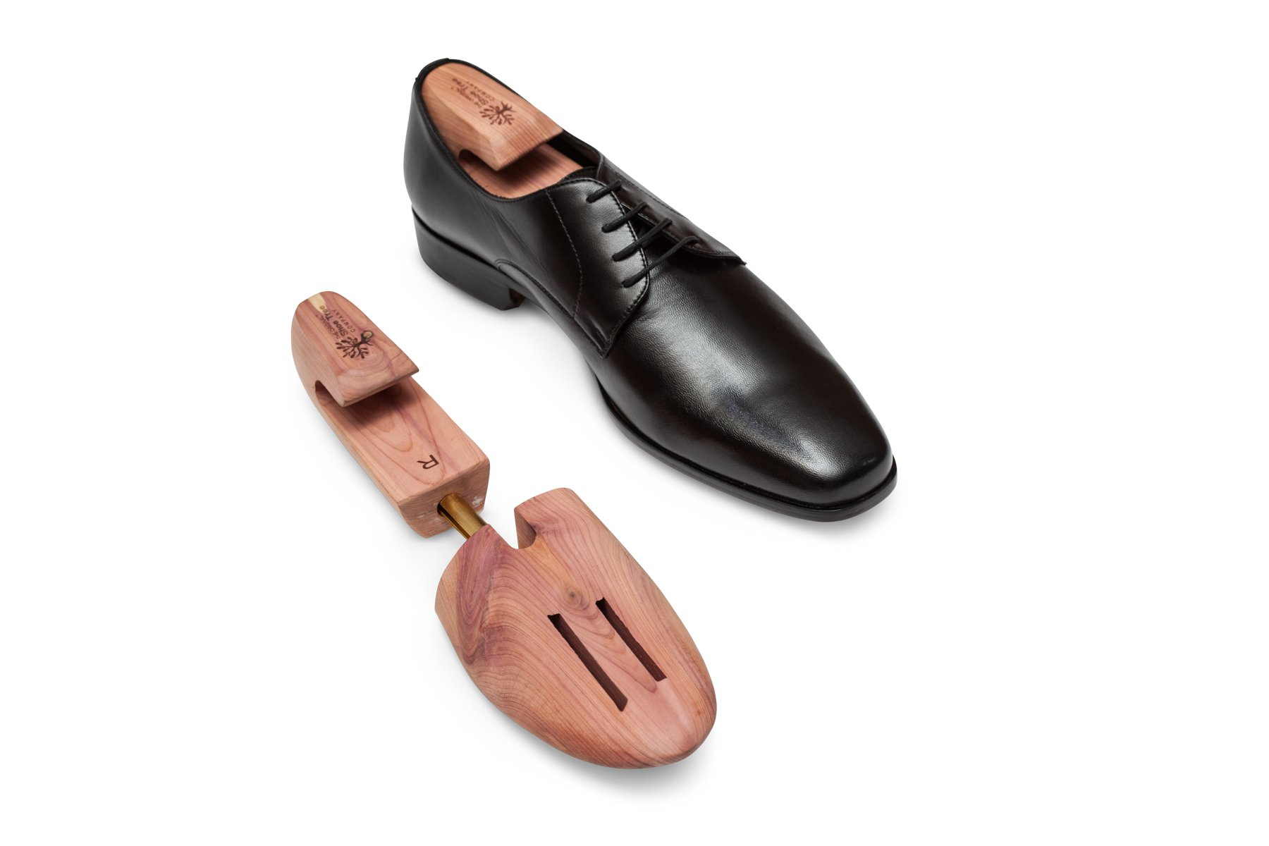 The Original Shoe Tree Company Fresh Cedar Shoe Tree 2-pack (for 2 pairs of shoes) Medium by The Original Shoe Tree Company (Image #4)