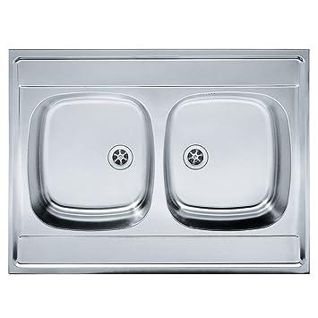 Franke 103.0205.567 seta per lavello da cucina con ciotola doppia in ...