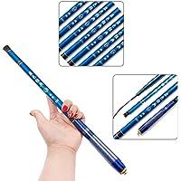canne à pêche télescopique portable fibre de carbone ultra léger Mini fishing rod 1.8M-4.5M, Minimum 43cm