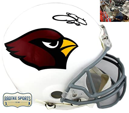 260733e5 Emmitt Smith Autographed/Signed Arizona Cardinals Riddell Authentic ...