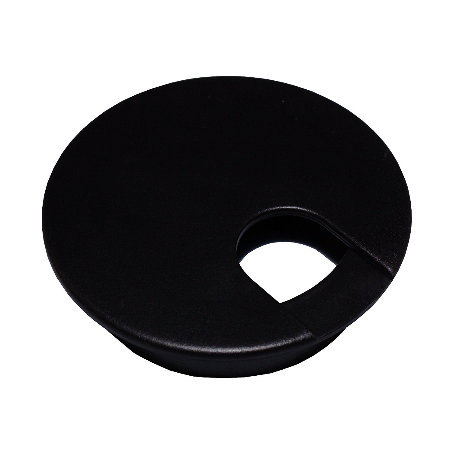 Desk Cord Cable Wire Grommet Black 2 1 2 #1031 5 Desk Grommets