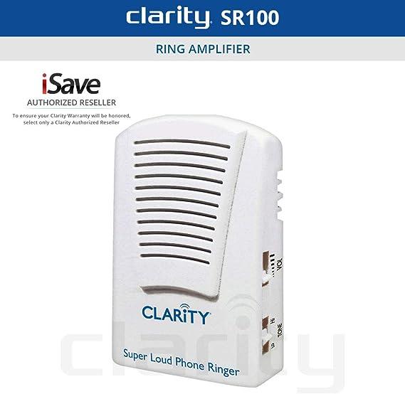 Clarity SR100 55173 Super Loud Phone Ringer