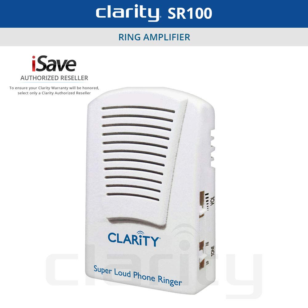 CLAR55173 - CLARITY 55173.000 Super-Loud Telephone Ringer by Clarity
