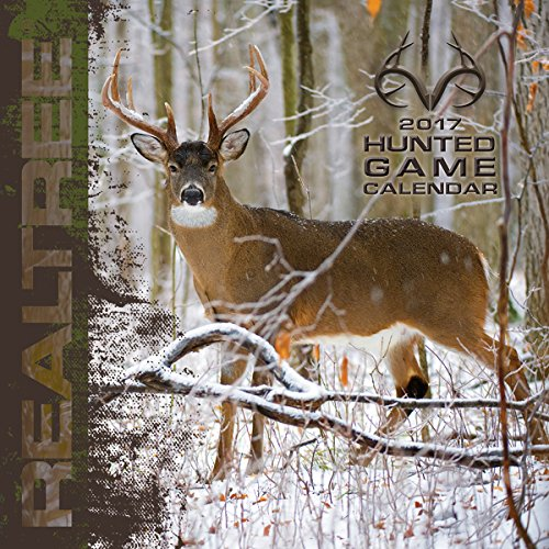 "Turner Licensing 2017 Realtree Big Game Wall Calendar, 12""X12"" (17998012065)"