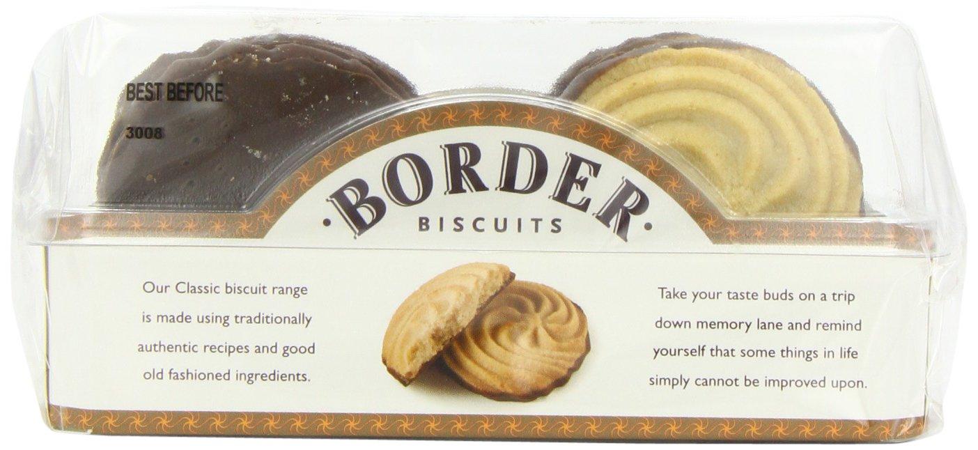 Border Biscuits Galletas de Mantequilla y Base de Chocolate con Leche - Paquete de 6 x 150 gr - Total: 900 gr: Amazon.es: Alimentación y bebidas