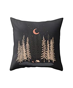 Wintefei Night Scene Square Pillow Case Cover Cushion Home Sofa Decor?