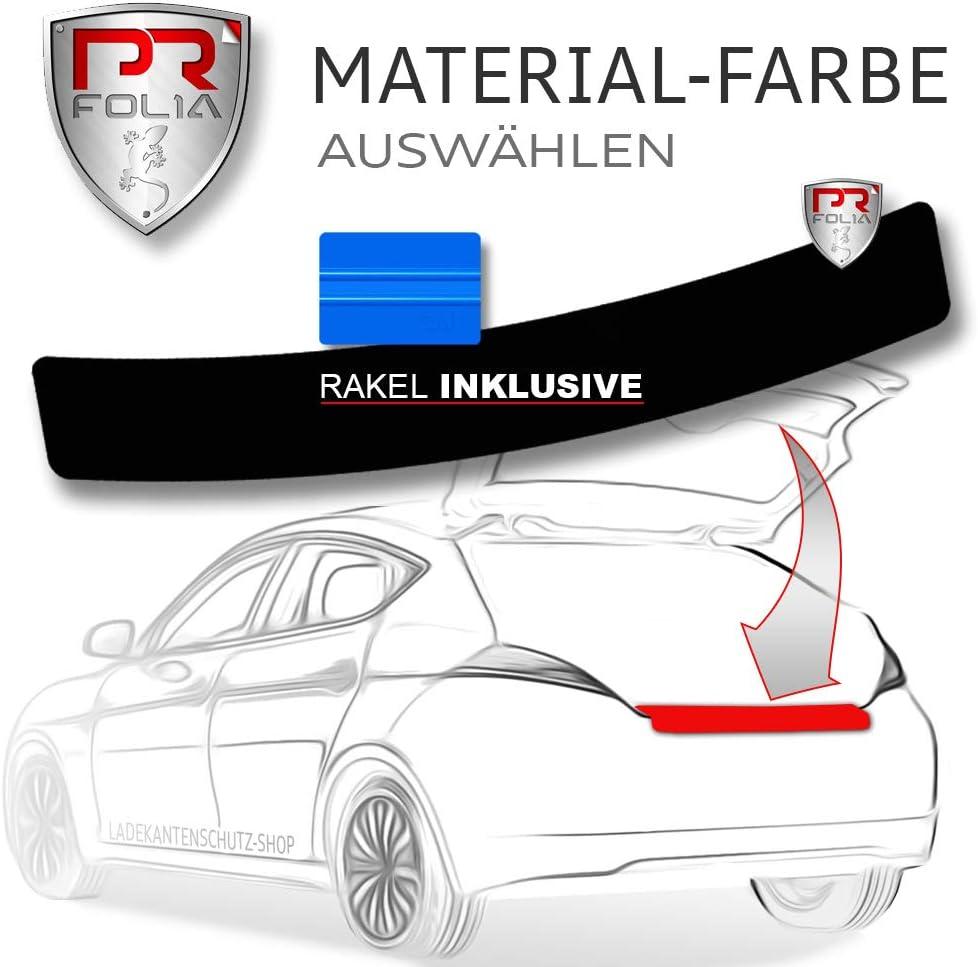 RAKEL SX4 S-Cross Auto Zubeh/ör ab Bj.2013 Schwarz inkl PR-Folia Lackschutzfolie selbstklebend Ladekantenschutz