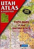 Utah Atlas and Gazetteer (State Atlas & Gazetteer)
