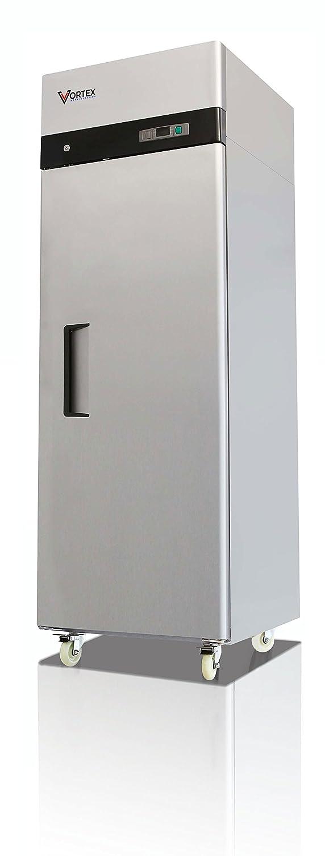 Vortex Refrigeration Commercial 1 Solid Door Refrigerator - 23 Cu. Ft. …